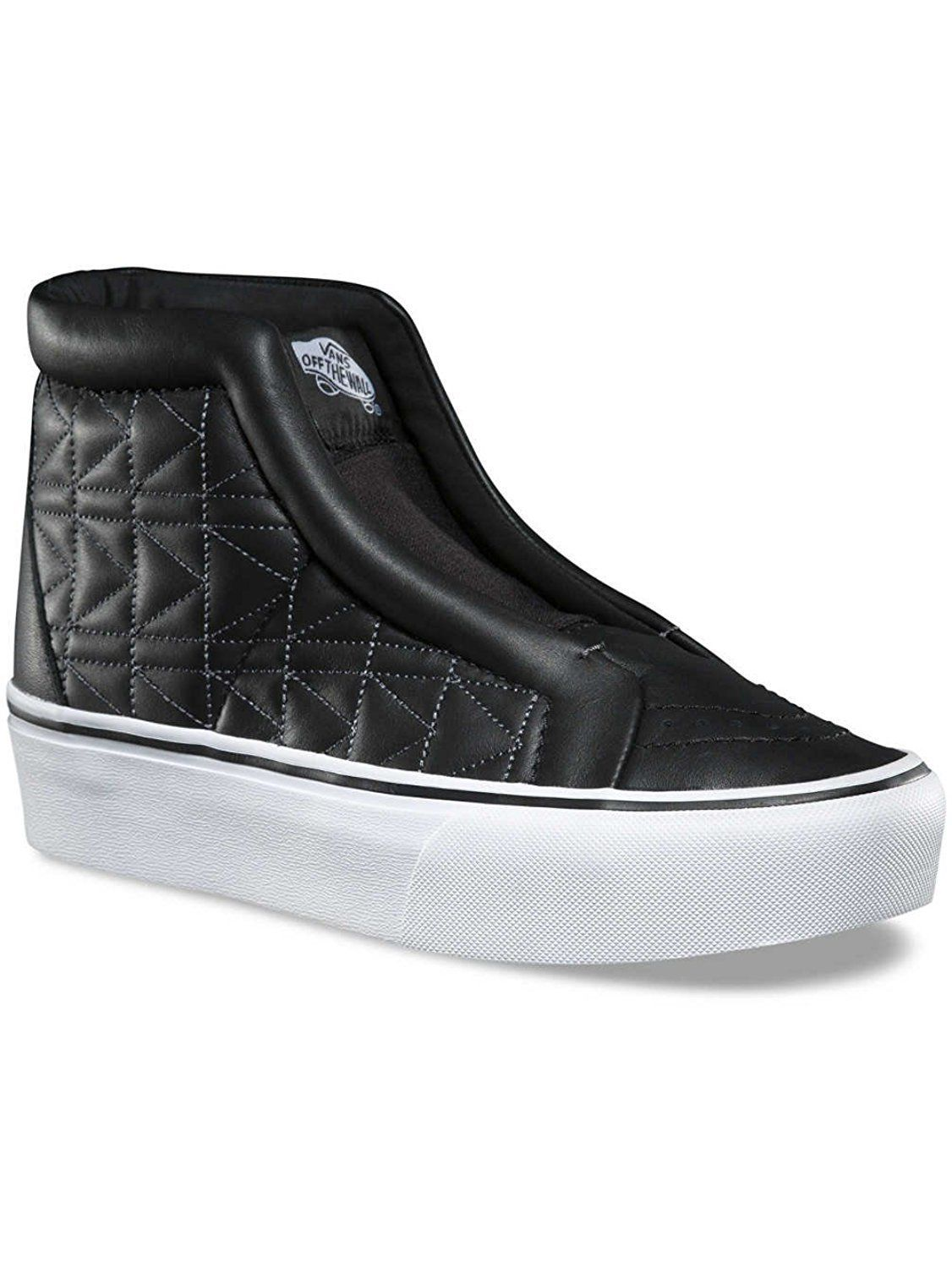 Primary image for Vans Sk8 Hi Laceless Karl Lagerfeld Chain K Quilt Black Fashion Collectors Shoes