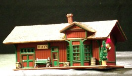 Hallmark Sarah Plain and Tall Collection The Hays Train Station 1994 AA-191768B