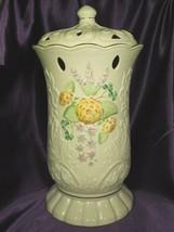 Vintage Belleek Glendarragh Covered Vase Limited Edition #450/3350 - $123.75