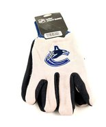 NHL fan sport utility work gloves (Vancouver Canucks Grey/Midnight Blue) - $9.95