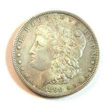 1898 P MORGAN SILVER DOLLAR  (UNC)  MS++ #200318 - $33.66