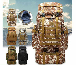 Tactical Military Rucksack Waterproof Hunting Camping Sports Backpack Ou... - $70.99