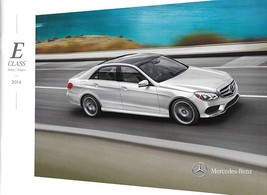 2014 Mercedes-Benz E-CLASS sedan wagon brochure catalog US 350 550 E63 A... - $10.00
