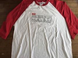Dilbert Comic T-Shirt Men's Baseball  Sleeve  Excellent Condition 2XL - $12.34