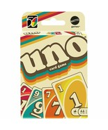 Mattel Games UNO Iconic 1970s Card Game GXV43 #1 Of 5 In Series Special ... - $12.99
