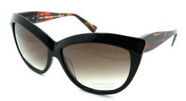 Alain Mikli Sunglasses A01413 AO39 61-14-140 Black Brown Red / Brown Gra... - $85.36