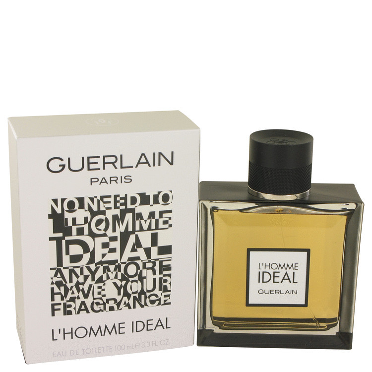 Guerlain L'homme Ideal 3.3 Oz Eau De Toilette Cologne Spray