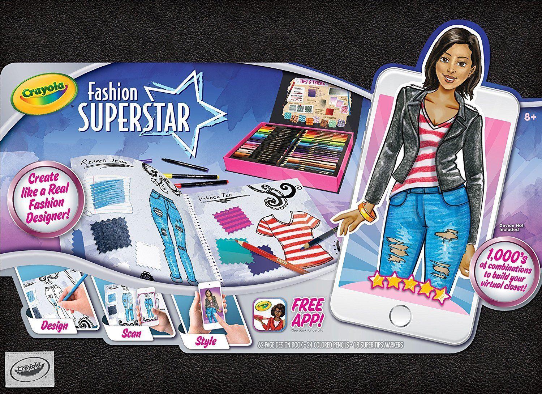 Crayola Fashion Superstar Virtual Designer And 50 Similar Items