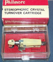 CRYSTAL TURNOVER CARTRIDGE NEEDLE UNIVERSAL STEREO REPLACEMENT for 4 volt output image 1