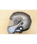 SHOEI Neotec Anthracite Modular Helmet w/ SENA 20S Bluetooth Comm System... - $699.99