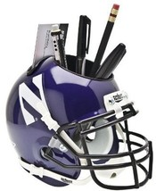 Northwestern Wildcats NCAA Football Schutt Mini Helmet Desk Caddy - $21.95
