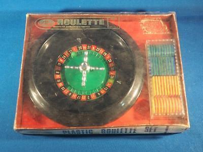 Vintage Action Lobeco Miniature Roulette Game w/ Box