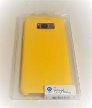 ONN Case For Samsung Galaxy S8 Plus Banana Neon Yellow + FREE Screen Protector - $11.26
