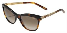 Chopard Sunglasses SCH189S 0748 Havana Gold Brown Gradient 55mm - $193.03