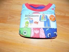 Toddler Size 2T PJ Masks 2 Piece Flannel Pajamas Set Sleepwear Shirt Pan... - $12.00