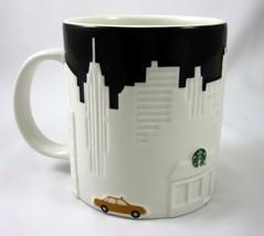 Starbucks Coffee New York City Embossed Relief Mug Cup Collectors Series... - $29.99