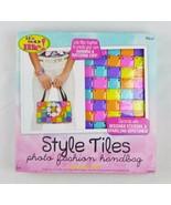 Its So Me style tiles photo fashion handbag kit 78 colorful tiles art & ... - $21.02