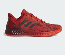 Adidas Harden B/E X MVP Red/Scarlet Men Basketball Shoes CG5981 Size 12 - $79.95