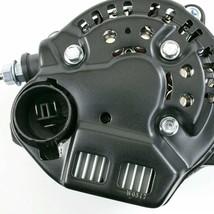 Mini Race Alternator Denso Style High Amperage 90 Amp Black Finish image 2