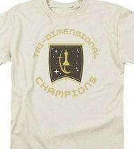 Star Trek T-shirt Tri-Dimensional Champion Episode Court Martial Graphic CBS851 image 3