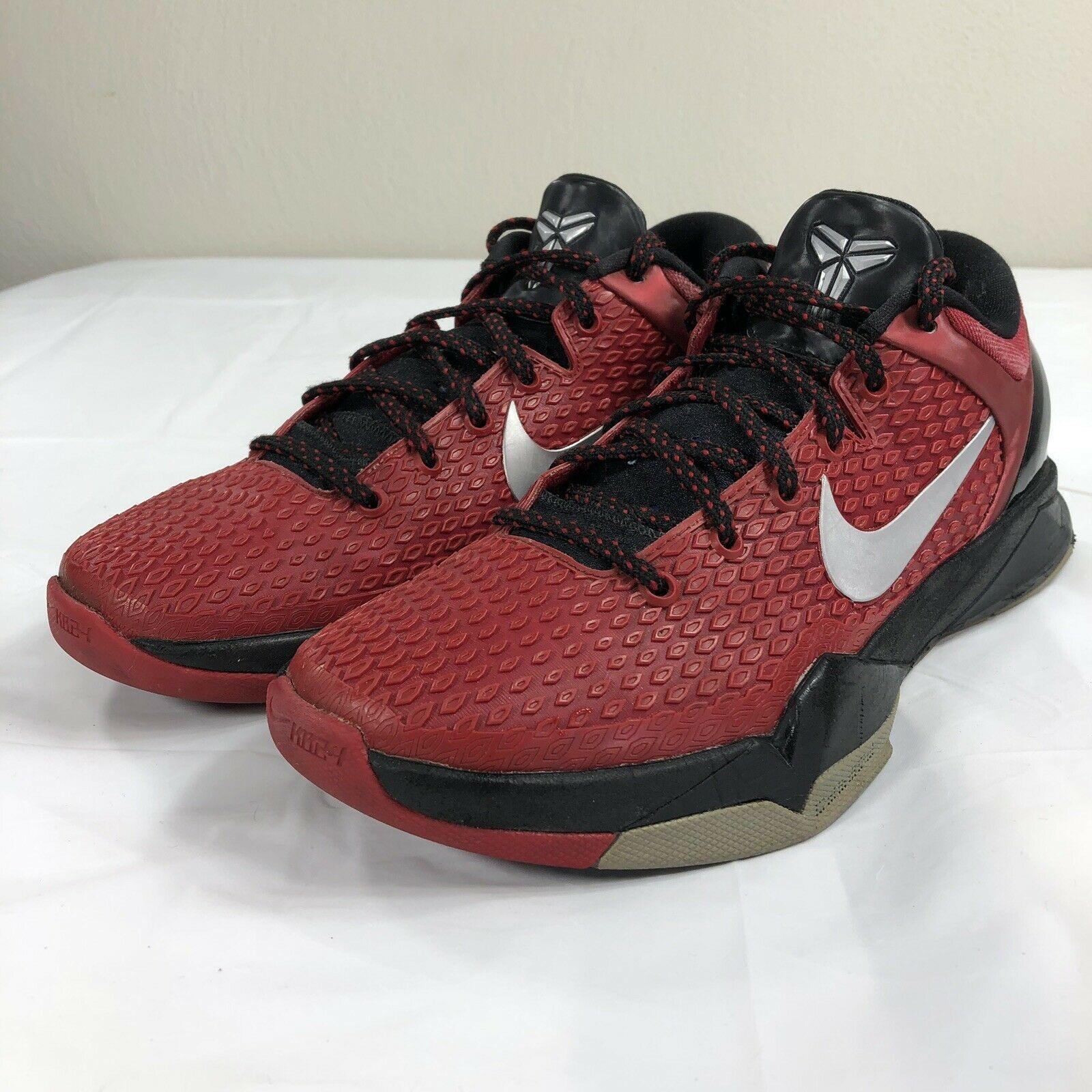 size 40 fb766 1f179 Nike Kobe VII 7 Red Black Men s 7.5 Mamba and 50 similar items