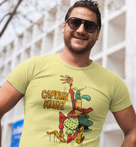 Captain Klutz T shirt MAD Magazine retro 1970s cotton graphic tee shirt image 3