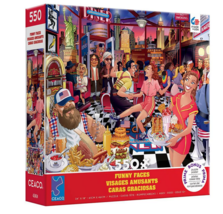 Ceaco Funny Faces: USA Diner Jigsaw Puzzle - 550 PC - $28.99