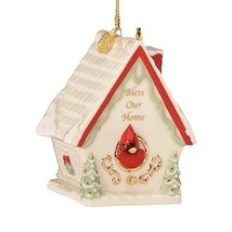 Lenox 2012 Annual Bless Our Home Christmas Ornament Birdhouse  New in Box - $19.99