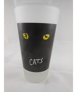 """CATS Broadway Frosted 6"""" Heavy Drinking Glass - $11.87"""