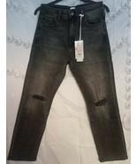 NEW Madison Women's Monroe-Slim Straight W-Regular Jeans Slate 6/28 free... - $19.79