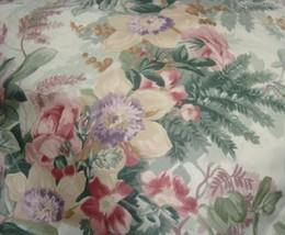 2 king Pillowcases Set two mw new Ralph Lauren Winter Garden Floral fabric green - $79.99