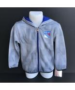 NHL New York Rangers Toddler Full Zip Hoodie Jacket - Size 4T -NEW -e - $24.99