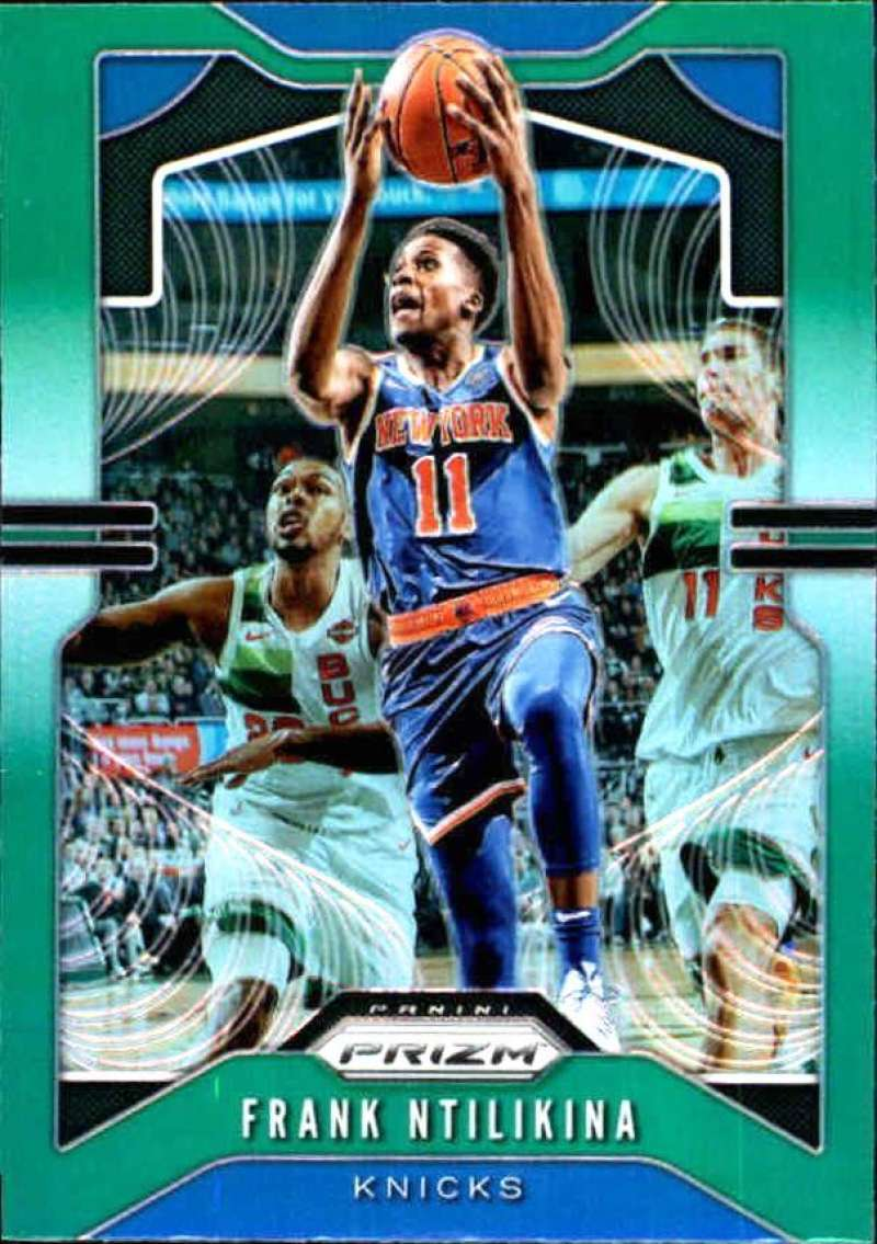 Primary image for 2019-20 Panini Prizm Prizms Green #177 Frank Ntilikina Knicks