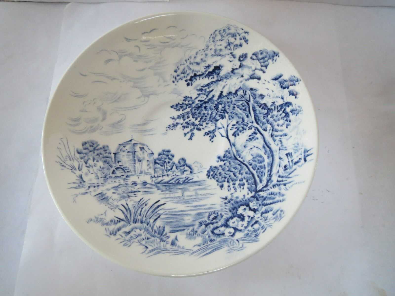 Wedgwood - Made in England - Cup and Saucer - Countryside