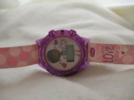 Doc McStuffing Disney Watch Girl's Digital Wristwatch Buckle Band Purple Pet Doc - $29.00