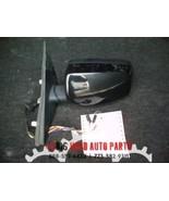 2004 2005 BMW 530I LEFT BLACK DOOR MIRROR *1 BOLT BROKEN - $84.00