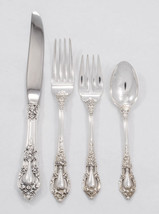 Eloquence by Lunt Sterling Silver Regular 4 piece Place Setting - No Mon... - $200.00