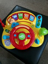 VTech Turn and Learn Driver Baby Developmental Toy Fun Driving Steering ... - $9.80