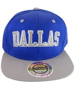 City Hunter Dallas 2-Tone Men's Adjustable Snapback Baseball Cap Royal/Gray - $9.99