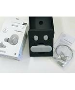 Audio Technica Completo Wireless Bluetooth Auricolare Grigio ATH-CKR7TW-... - $149.09