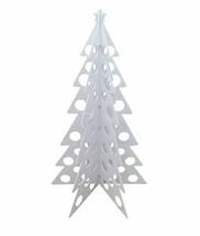 Contemporary Christmas Tree White Large Decorative Christmas Retail Stor... - $155.68