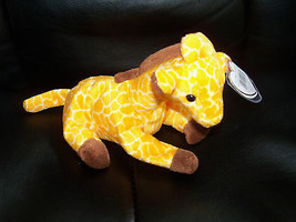 RARE Ty Beanie Baby  TWIGS THE GIRAFFE  NEW LAST ONE - $40.80