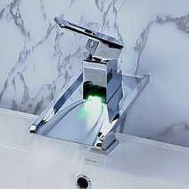 Color Changing LED Waterfall Bathroom faucet - $207.85
