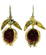 Gypsy Good Fortune Pomegranate Earrings - $194.99