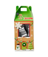 Wilton 7 Piece Stainless Steel Cookie Cutters Set Christmas Holiday Theme - $7.99