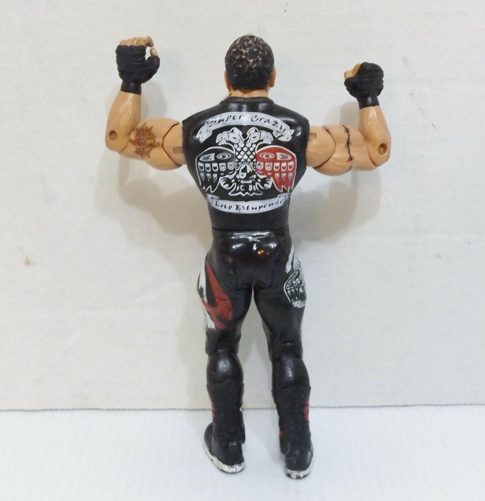 """2003 Jakk's Ruthless Aggression #28 """"Super Crazy"""" Action Figure WWE WWF {2715} image 4"""