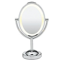 Conair Reflections Double-Sided Lighted Vanity Makeup Mirror, 1x/7x magn... - $37.99