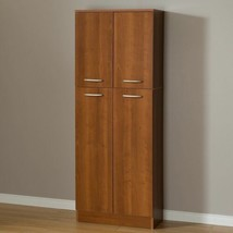 Wooden Pantry Storage Cabinet Kitchen Shelving Cupboard Closet Organizer... - $122.66+