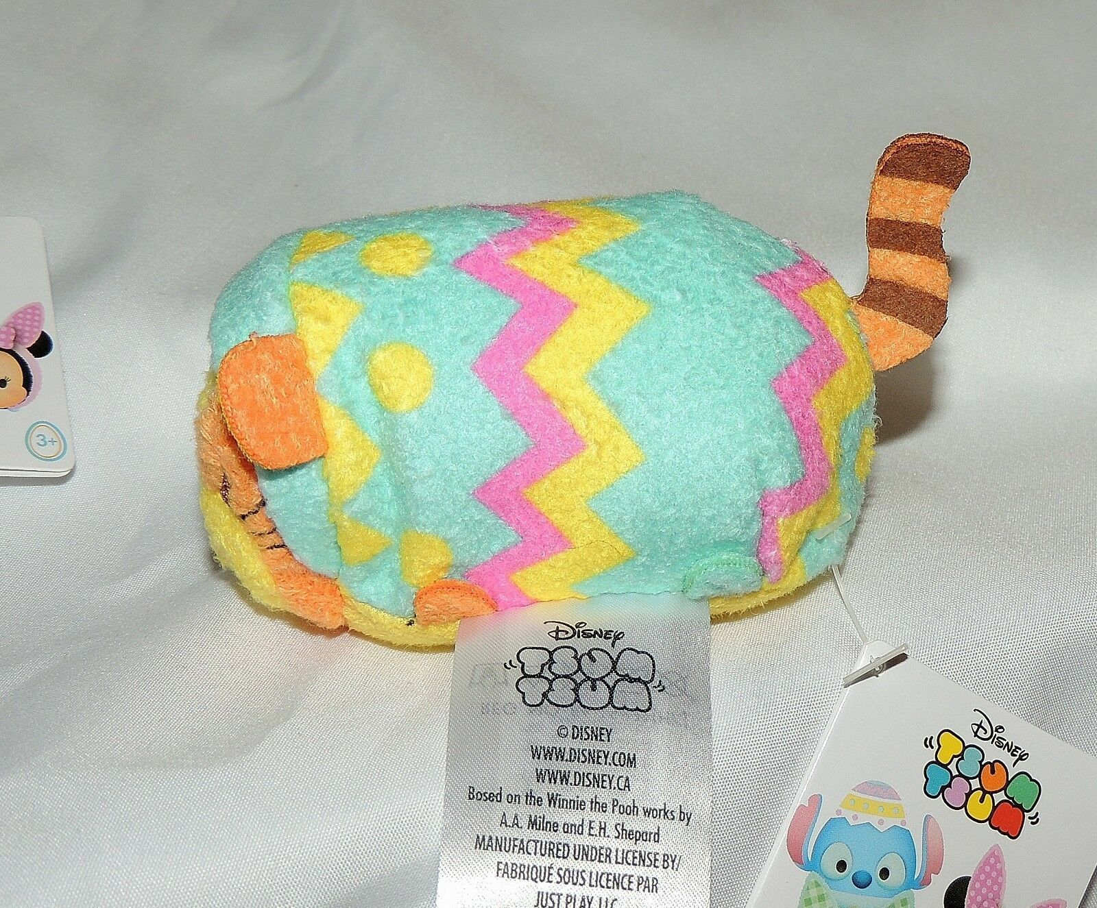 Nouveau Disney Tsum Winnie The Pooh Tigrou Peluche Oeuf de Pâques Lapin Pois
