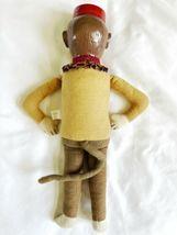 "Vintage Katherine's Collection Wayne Kleski 15"" Tall Monkey Bellhop Doll Retired image 5"